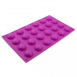 Форма для конфет Полусферы 24 шт фото