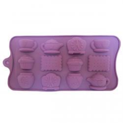 Форма д/льда и конфет силикон Чайная церемония фото