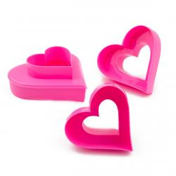 Вырубки для печенья двустронние Сердца (фото 1 из 2)