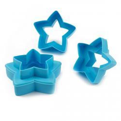 Вырубки для печенья двустронние Звезды (фото 1 из 2)
