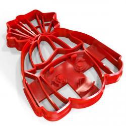 Фиксик Симка вырубка для пряников 9*7 см (3D) фото