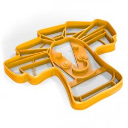 Фиксик Папус вырубка для пряников 9*11 см (3D) фото