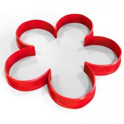 Цветок 5-листник вырубка для пряников 10*10 см (3D) фото