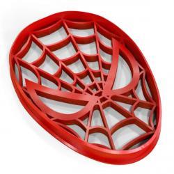 Человек-паук вырубка для пряников 9*7 см (3D) фото