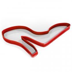 Туфелька вырубка для пряников 11*7 см (3D) фото