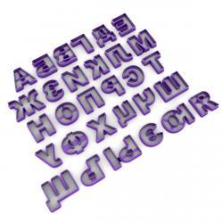 Алфавит русский вырубка для мастики 3,5 см (3D) фото