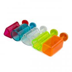 Набор форм для канапе с пружиной пластик 5шт (фото 1 из 2)