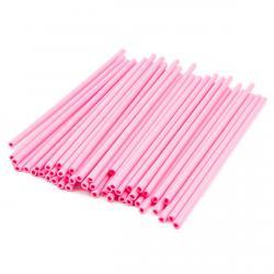 Палочки для кейк-попсов и леденцов Розовые (50 шт) фото
