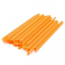 Палочки для кейк-попсов и леденцов Оранжевые (50 шт) фото