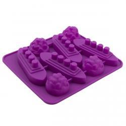 Форма для конфет Морской бой 8 шт (фото 1 из 2)