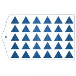 Трафарет для глазури и шоколада Треугольник шаблон фото