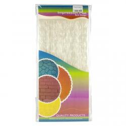 Набор текстурных матов для мастики и шоколада Стена 4 шт фото