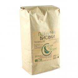 Отруби пшеничные Органик Эко продукт, 500 гр фото