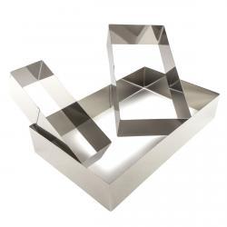 Набор форм кондитерских Прямоугольник Empire 3шт (25*15/20*10/15*5см) (фото 1 из 2)