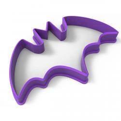 Хеллоуин - Летучая мышь вырубка для пряников 9*5,5см (3D) фото