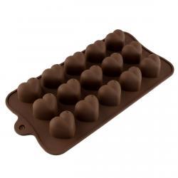 Форма д/льда и конфет силикон Сердечки (фото 1 из 2)