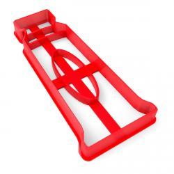 Тюбик с краской вырубка для пряников 10,5*4,2 см (3D) фото