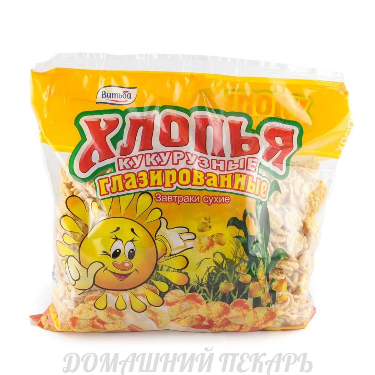 Кукурузные хлопья калорийность, полезные свойства, польза и вред.