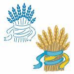 Пшеница трафарет для пряников 9*7,5 см (TR-2)