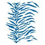 Шкура Тигра трафарет для пряников (TR-2)