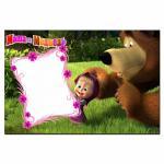 Маша и медведь 2 вафельная картинка