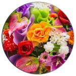 Цветы 6 вафельная картинка