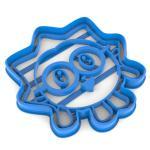 Малышарики Ежик вырубка для пряников 10*9,7 см (3D)
