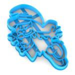 Вырубка для пряников Смурфетта 12*7,4 см (3D)
