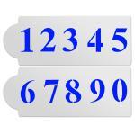 Трафарет Цифры 2 см HMA-К146