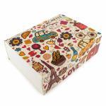 Упаковка для макаронс 115*155*50 Париж