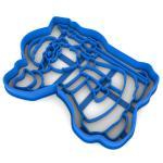 Дед Мороз вырубка для пряников 11*8,1 см (3D)