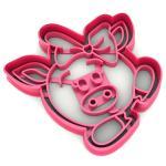 Свинка-5 вырубка для пряников 8*8,1 см (3D)