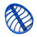 Вырубка для пряников Расписное яйцо Писанка-2 9*7 см (3D)
