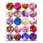 Капкейки-5 см Розы вафельная картинка