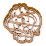 Вырубка для пряников Мамонтенок 10*9 см (3D)