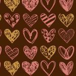 Трансфер для шоколада Painted hearts IBC 30*40 см 1 шт