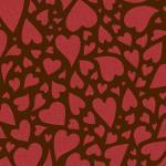 Трансфер для шоколада Сердца IBC 30*40 см 1 шт