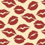 Трансфер для шоколада Поцелуи IBC 30*40 см 1 шт