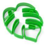 Вырубка для пряников Тропический лист 11*8,5 см (3D)