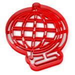 Вырубка для пряников Глобус-2 11*9 см (3D)