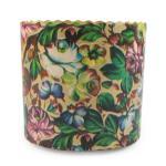 Панеттоне - формы бумажные для Пасхи 90*90 Голубые цветы (250гр)