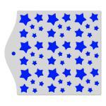 Фон Звезды трафарет для пряников 12,5*12,5 см (TR-2)