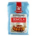 Мука Семола (Semola) из твердых сортов пшеницы Сто Пудов, 1 кг