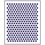 Трафарет Фон Цветочки-1 0,6 см (TR-1)