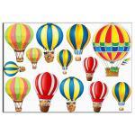 Воздушные шары 1 вафельная картинка