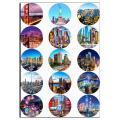 Капкейки-6,7 см Мегаполис вафельная картинка фото